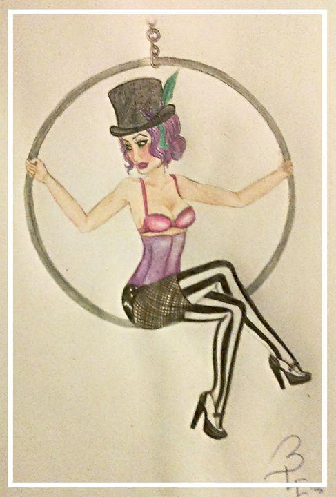 Freakshow Burlesque - BaileyLarkinArt