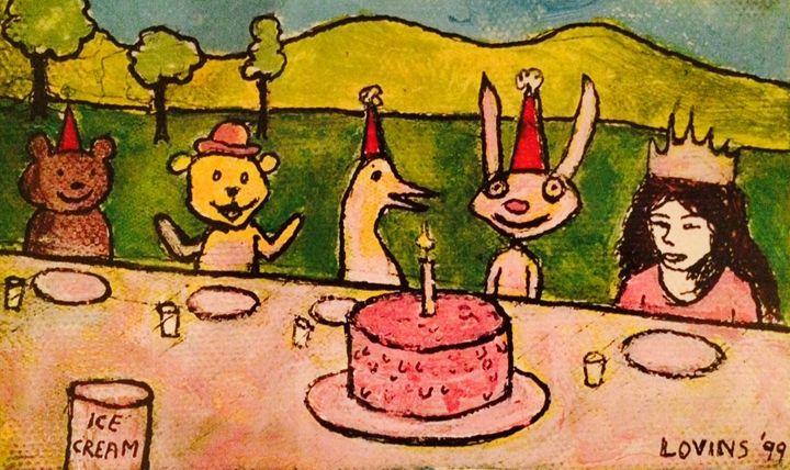 The Birthday Party - David Lovins
