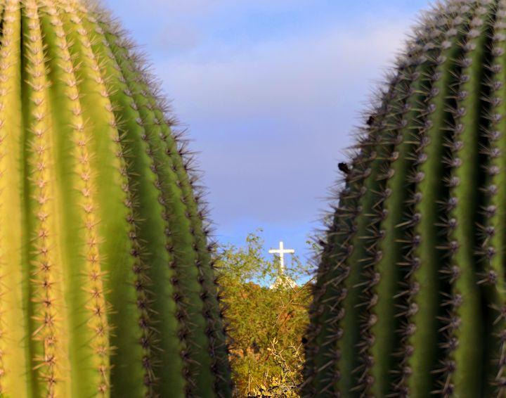 The Cross in the Desert - C&J fine arts