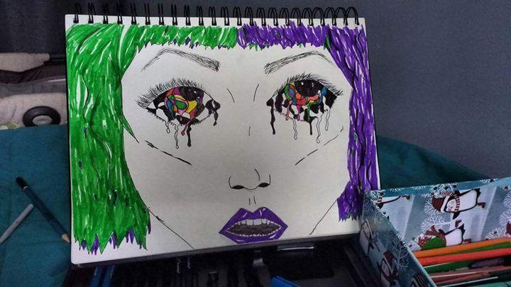 Acid - Art by Kate Hart
