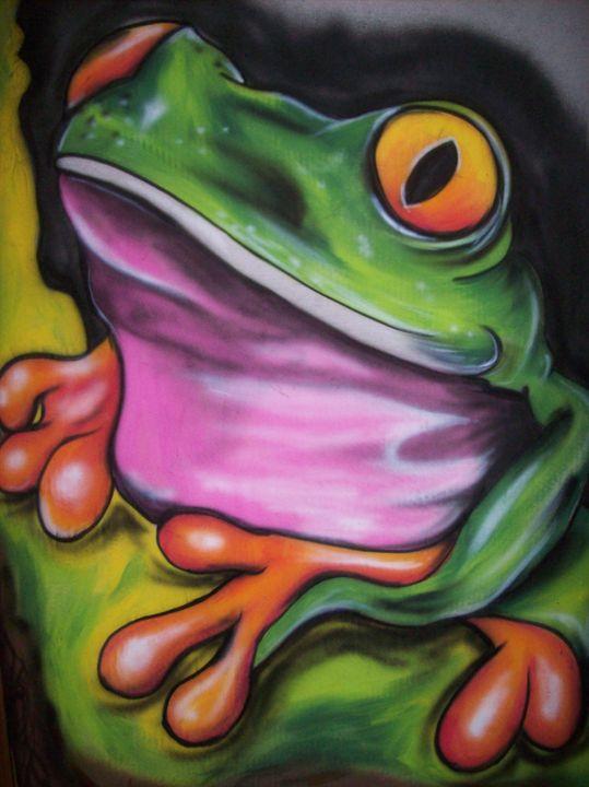 Tree Frog - Louie LeBlanc Jr