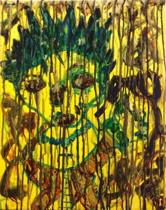 Girl in Graffiti - JesterMayhoneArt