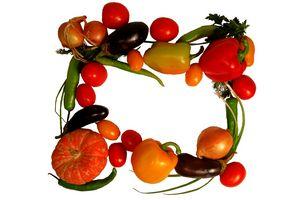 Colorful organic vegetarian art