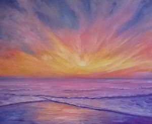 Sunrise Invitation - Beth Clark Arts