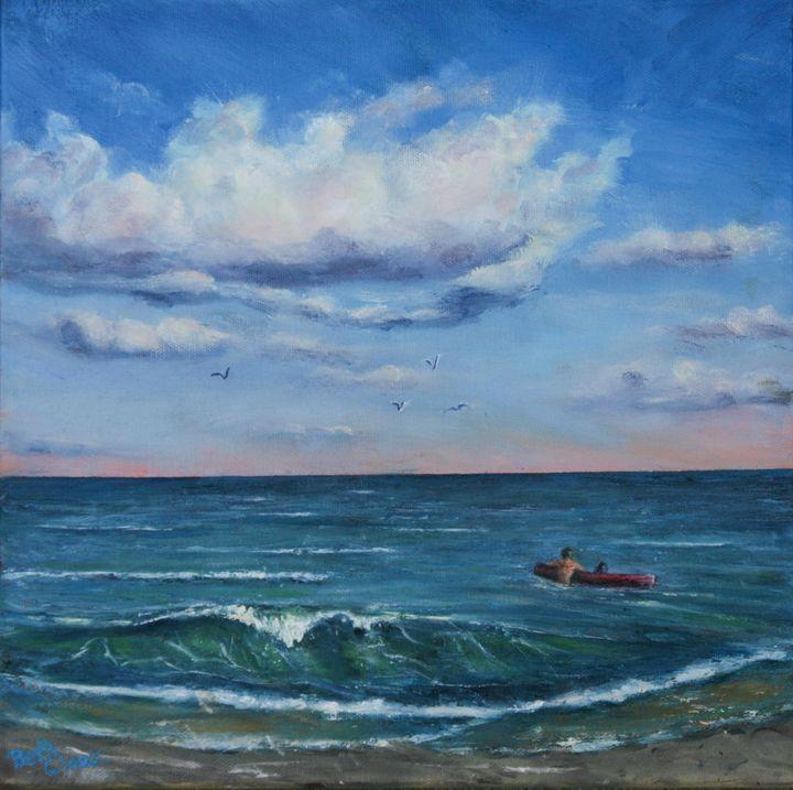 Into the Blue - Beth Clark Arts