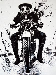 WW1 Biker