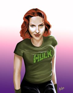 BLACK WIDOW LOVES HULK