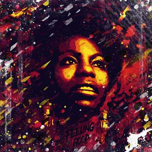 Nina Simone portrait. Feeling good.