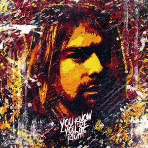 Kurt Cobain. Portrait. Nirvana.