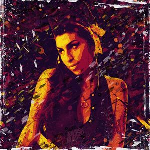 Amy Winehouse. Club 27. Pop art.