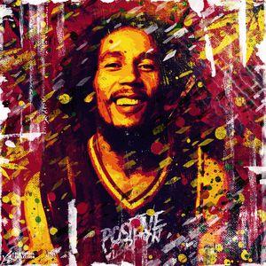 Bob Marley. Positive vibration.