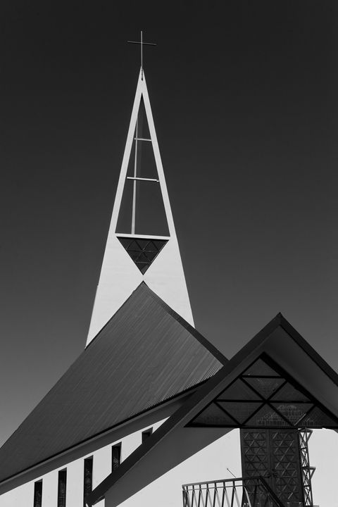 Icelandic Church - KOBAYASHI photography