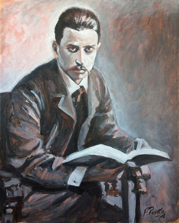 Rainer Maria Rilke - Frederic Reverte's Gallery