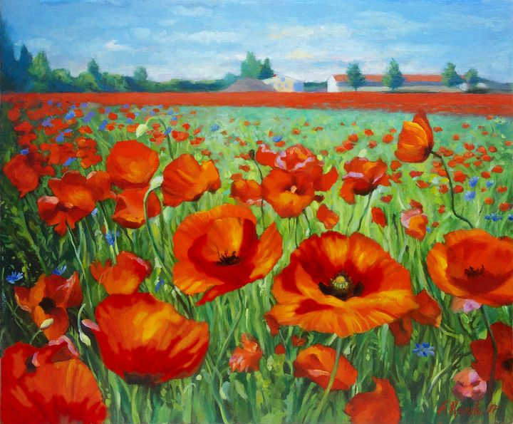 Poppies - Frederic Reverte's Gallery