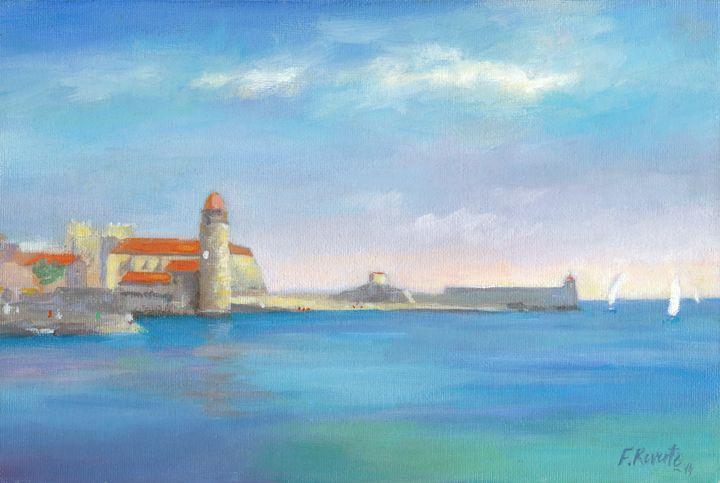 Collioure in Summer - Frederic Reverte's Gallery