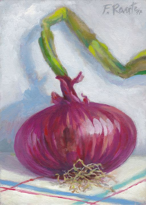Red Onion - Frederic Reverte's Gallery