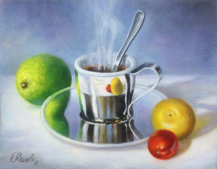 Coffee and Fruits - Frederic Reverte's Gallery