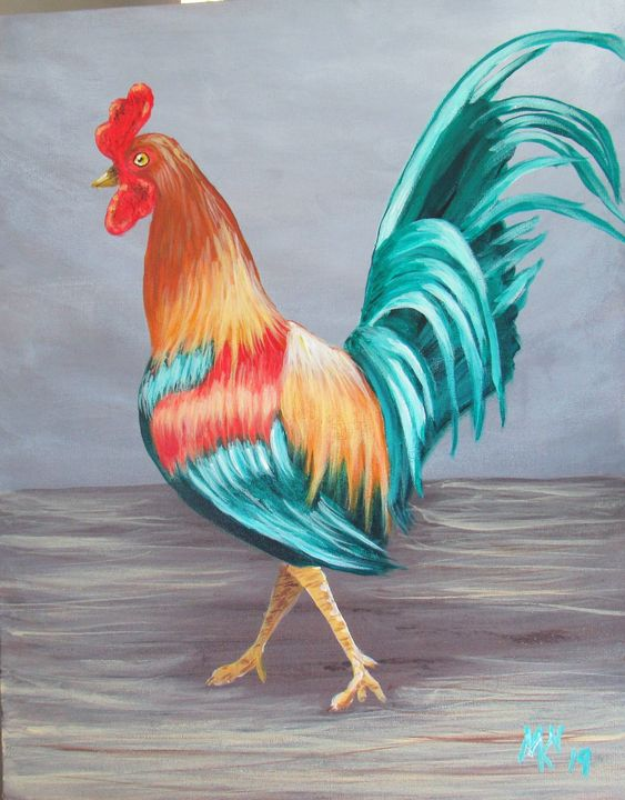 rooster - Marie Knotts-Nelson