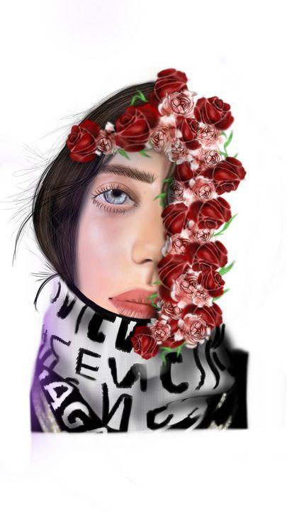 Billie Eilish - Maisie Smith Art