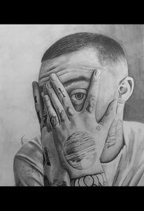 Mac Miller - Maisie Smith Art