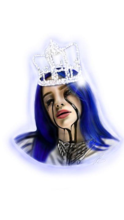 Billie Eilish:Crown - Maisie Smith Art