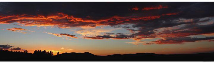Sky Over Bly - M. Nanna Photography