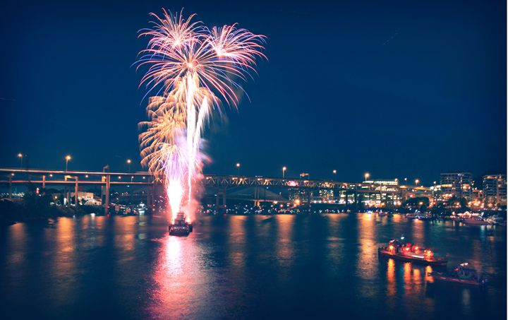 4th of July, Portland OR. - M. Nanna Photography