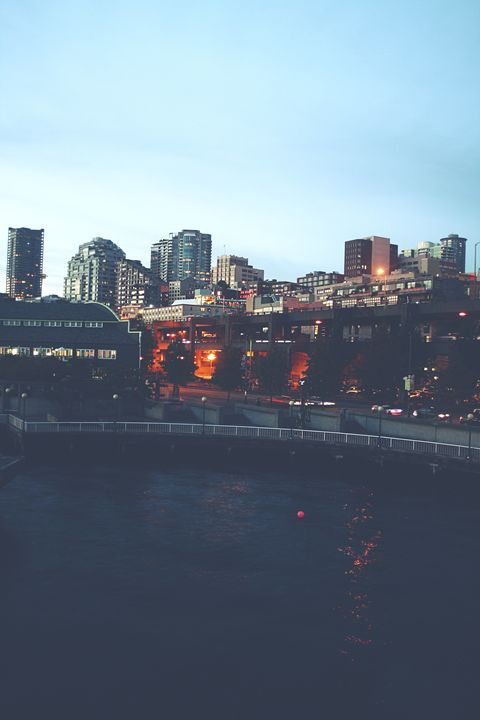 Seattle at Night - M. Nanna Photography