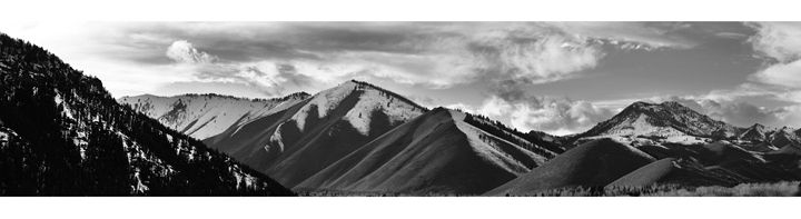 Sun Valley Mountains - M. Nanna Photography