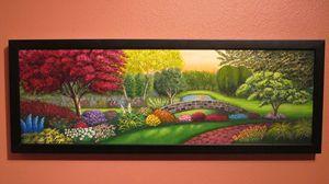 Paradise Garden (Framed)
