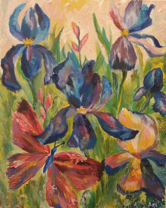 Irises - Tamara Black