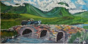 Crossing a bridge