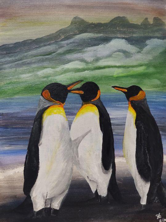 Penguins reunion - S Aguirre