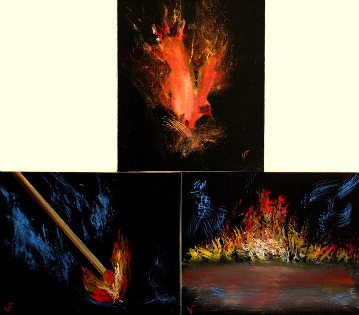 Phoenix Birth - Farrugia Art