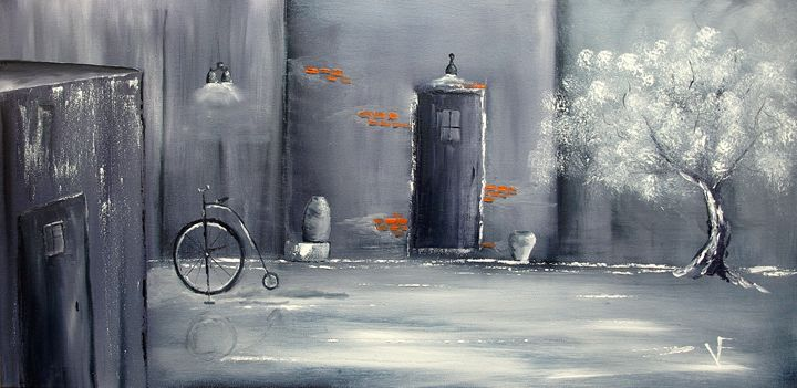 Old Town Alley - Farrugia Art