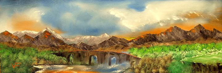 Scottish Highlands - Farrugia Art
