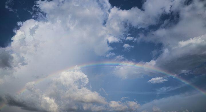 Rainbow Skyscape - David J Riffey