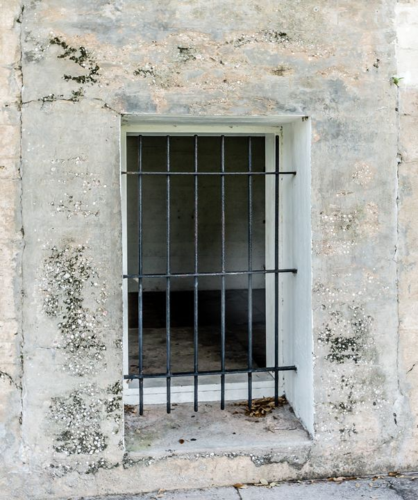 Barred Window - David J Riffey
