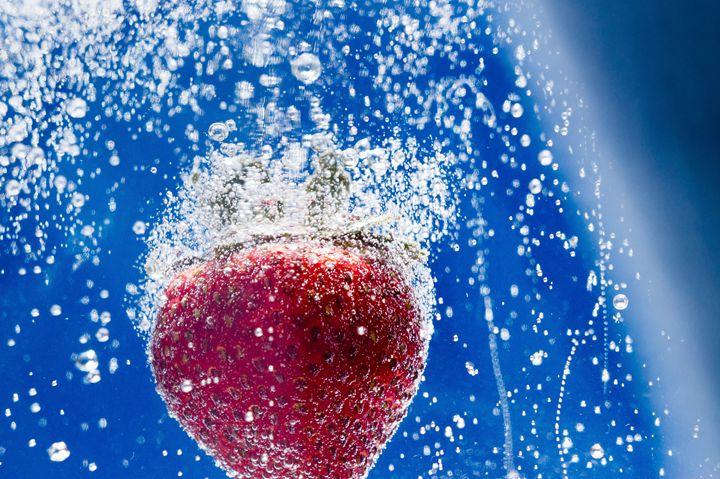 Sparkling Strawberry - David J Riffey