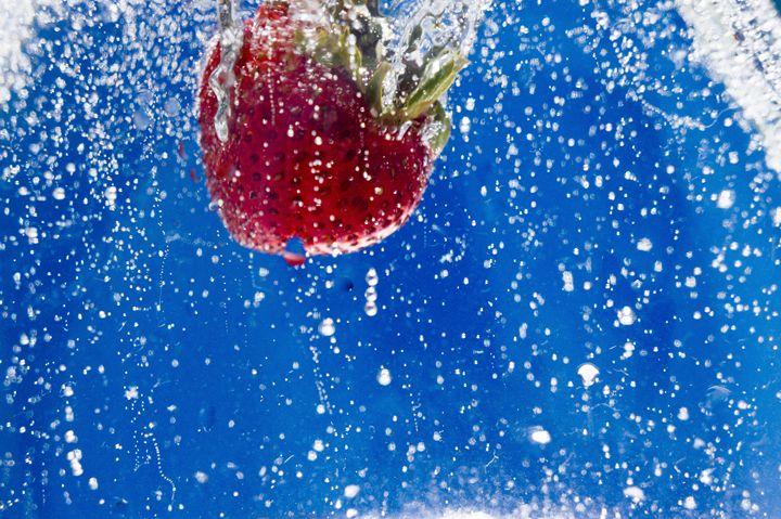 Sparkling Stawberry - David J Riffey