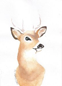 Son buck painting