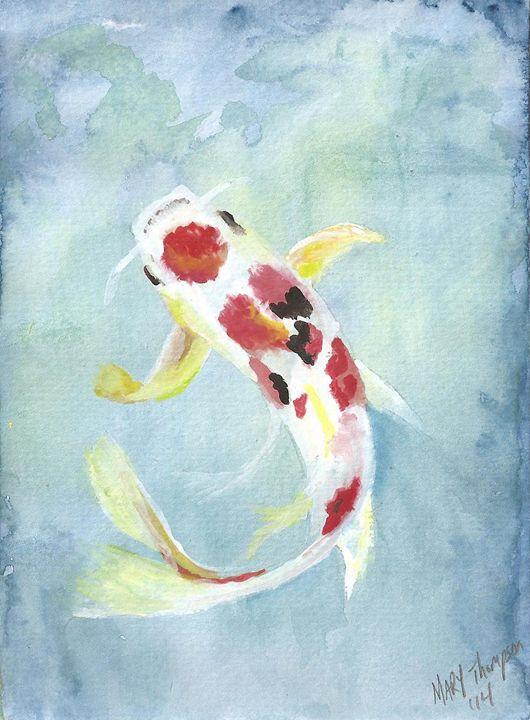 Koi fish - Mary's Gallery
