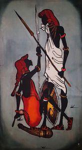 Armed Maasai Morans
