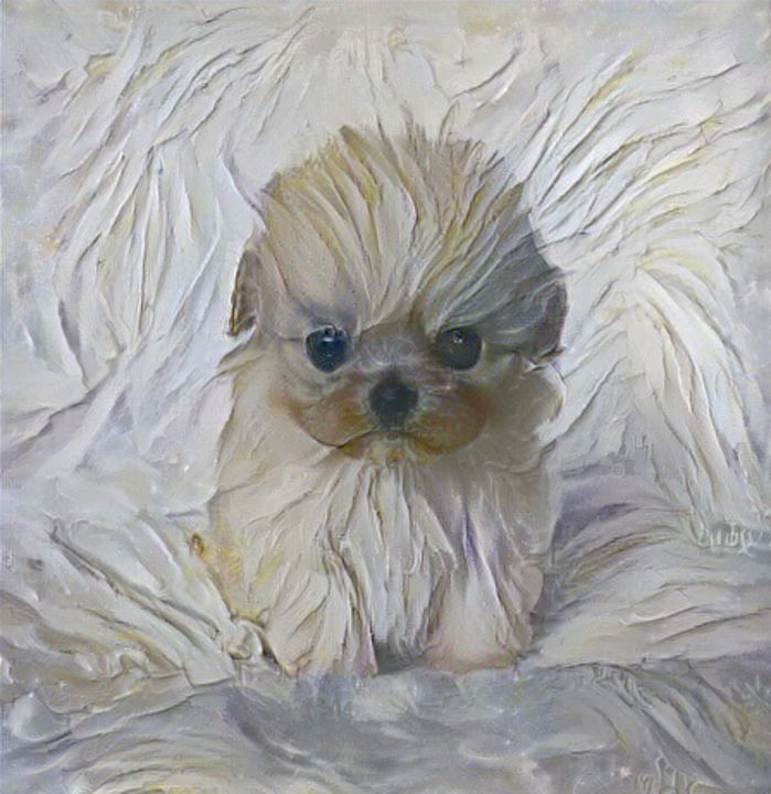 Meringue puppy - Alex Ovechkina