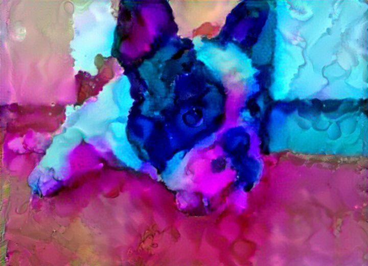 Purple dog - Alex Ovechkina