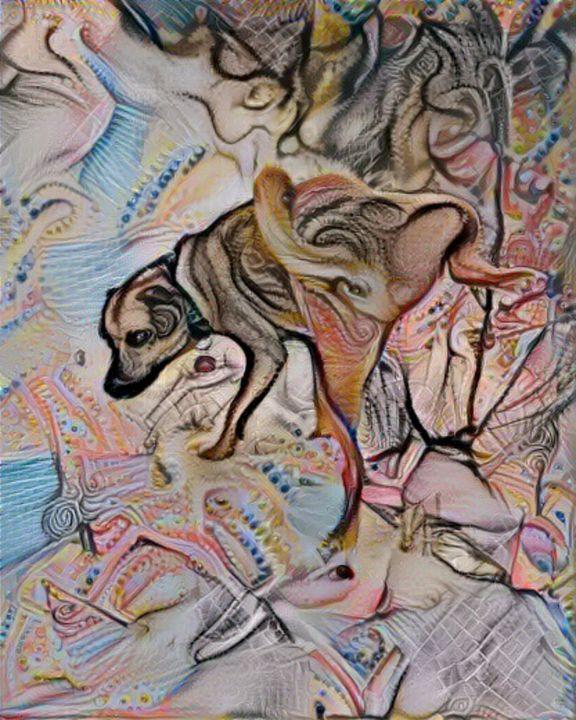 Dog marks territory - Alex Ovechkina
