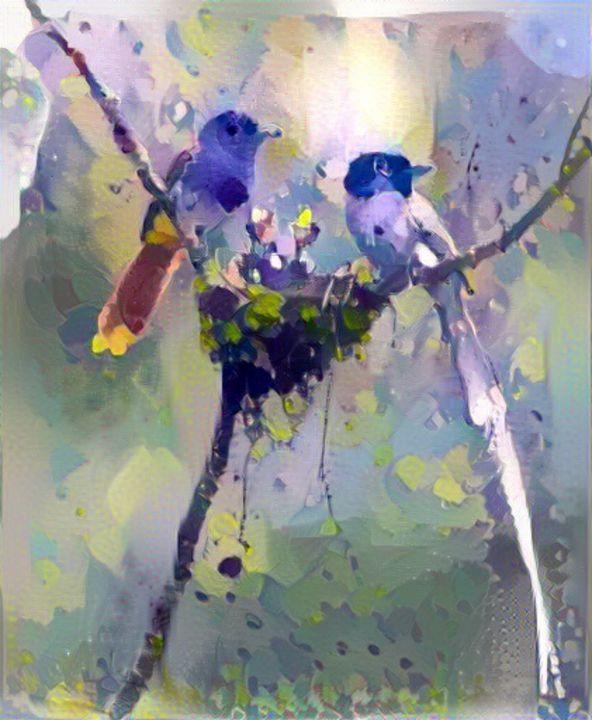 Birds in the nest - Alex Ovechkina