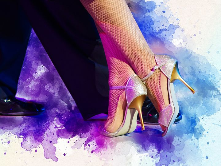 High heels. - Elzbieta Petryka