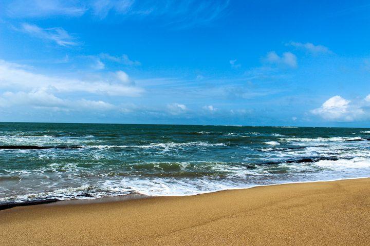Cape Coast beach - Stephanie Claytor