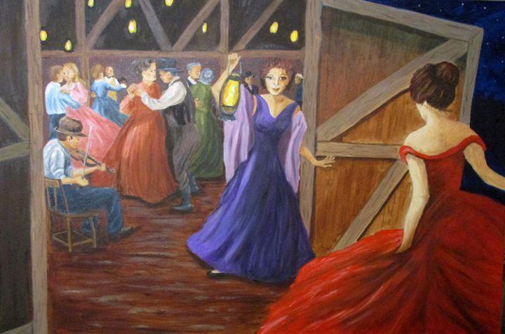 Barndance - Inspired Art by K
